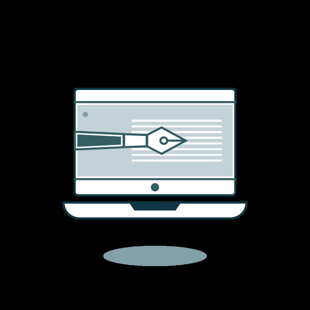 Redacción de presentación digital